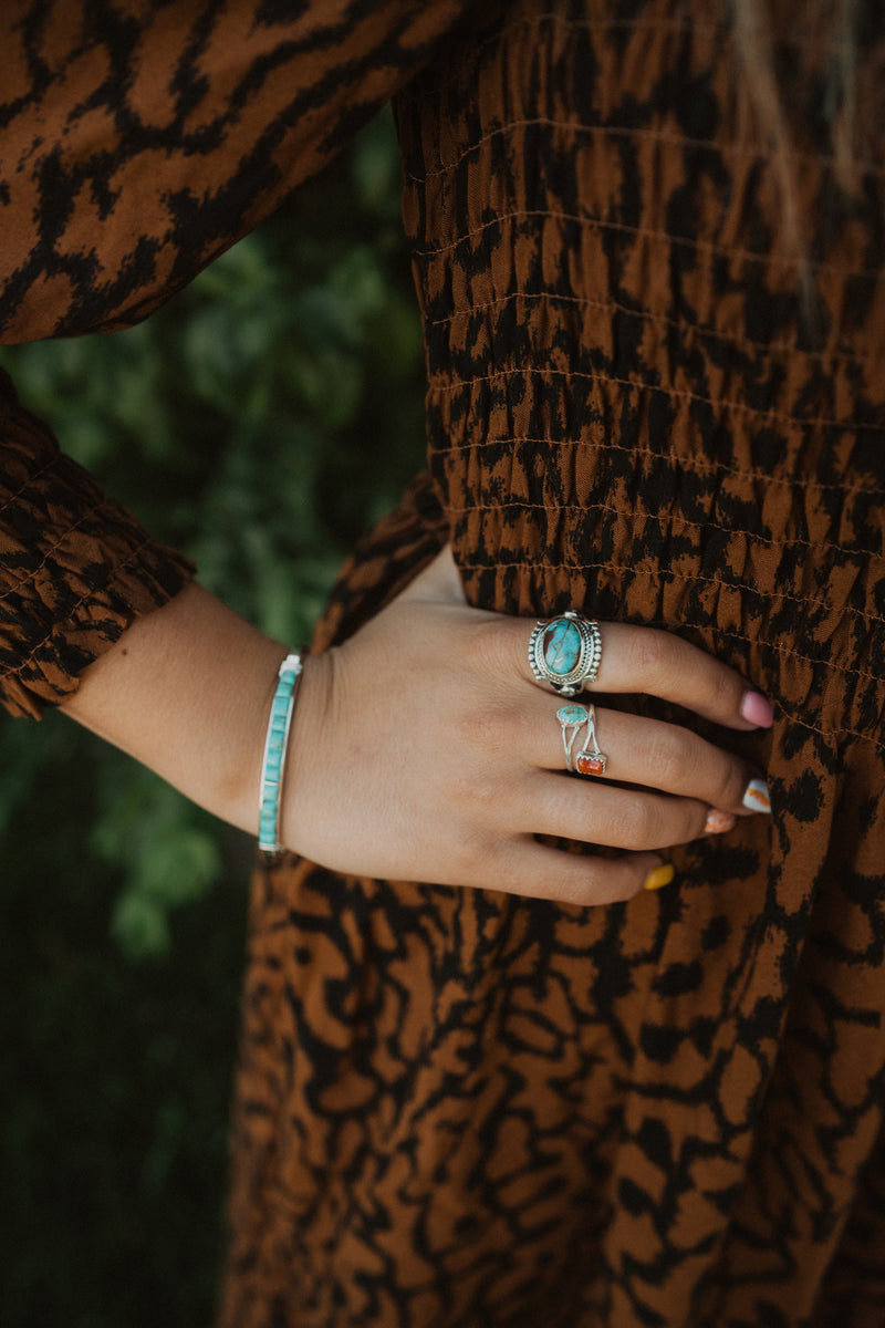 Eden Ring | Blue Copper Turquoise