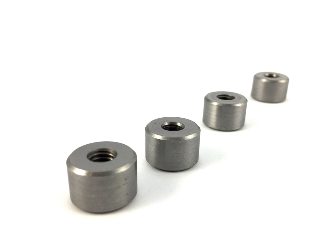 Threaded Bungs (mild steel)
