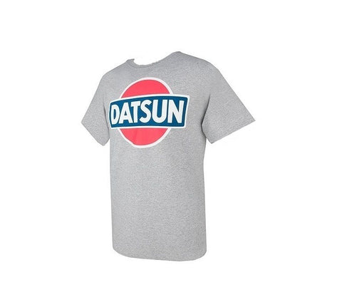 Datsun Vintage Logo T-Shirt Gray or Blue