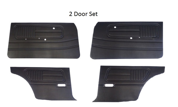 Door Panel Card Set 2 and 4 door 510 68-73