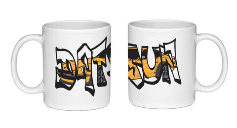 Datsun 240Z Graffiti Coffee Mug
