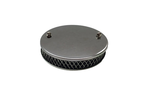 Carburetor Air Filter SU Round Top Chrome 240Z