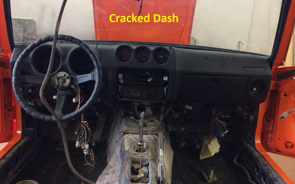 Dash Cover Cap Full Overlay Interior Black 1973