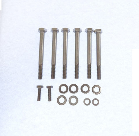 LS1 Water Pump Bolt Kit Stainless Steel LS6 LS2 V8
