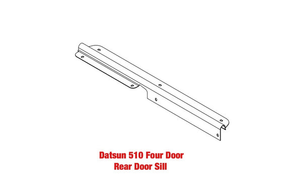 Door Sill Plate Threshold 510 68-73