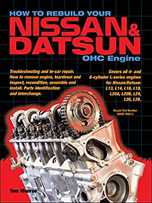 Datsun Nissan L Series Engine Rebuild Book Manual