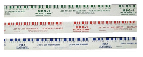 Plastigage Engine Bearing Clearance Gauge Indicator Plasti Guage