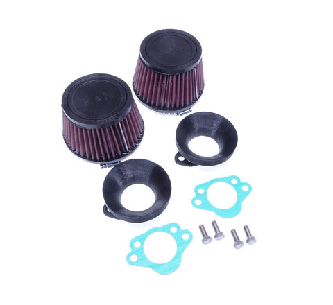 K&N Carburetor Air Filter Set SU Round Tops 240Z 70-72