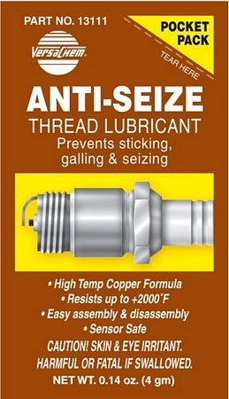 Thread Lube Anti Seize For Stainless Steel Fasteners Z
