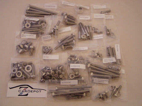 Engine Stainless Steel Bolt Kit 240Z 260Z 280Z 280ZX