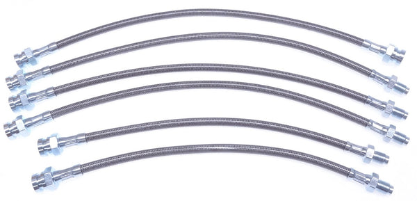 Brake Hose Kit Braided Steel 280ZX