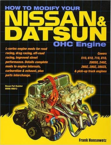 How to Modify Datsun Nissan L series Engine Book Manual