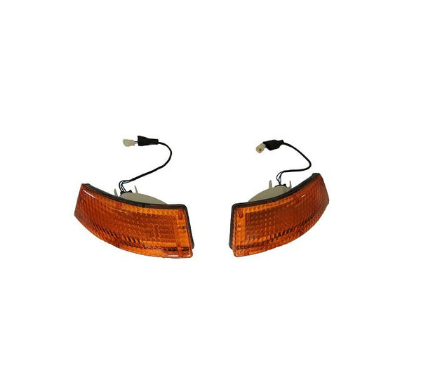 Front Turn Signal Light Lens Set 240Z 260Z