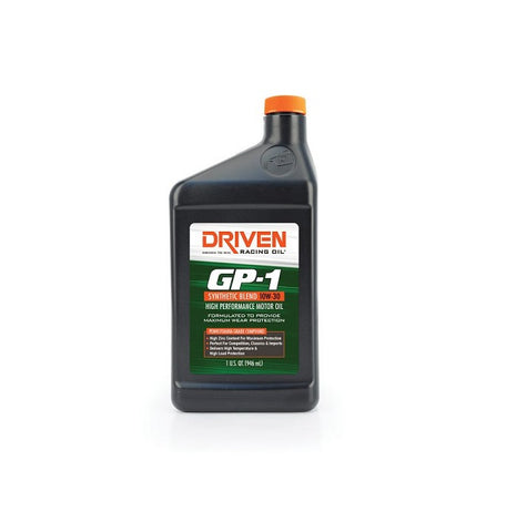 Driven GP1 10W-30 Synthetic Blend Engine Oil with ZDDP Zinc