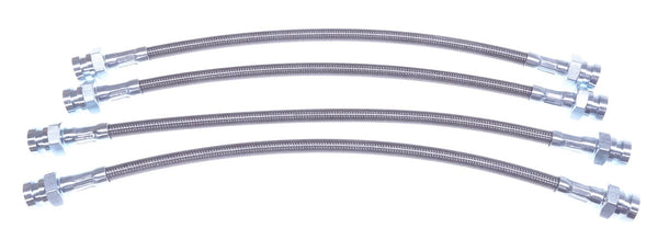 Braided Stainless Steel Brake Hose Set 240Z 260Z 280Z