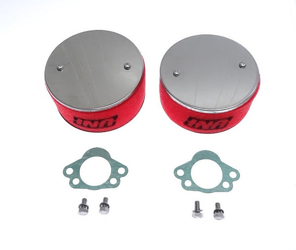 UNI Air Filter Set SU Round Tops 240Z 70-72