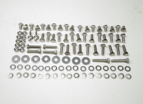 Stainless Steel 6mm Hardware Kit Restoration 100 pcs