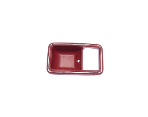 Door Handle Trim Cup Insert Interior Red 280ZX