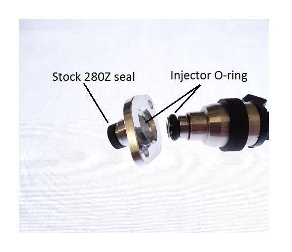 Fuel Injection Injector Adaptor Bung EFI 280Z 280ZX