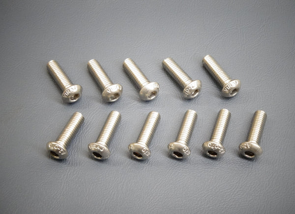 LS1 FAST Short Low Valley Cover Bolts Screws LSX LS LS2 LS3
