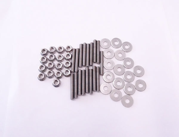 Intake and Exhaust Manifold Stainless Steel Stud Kit
