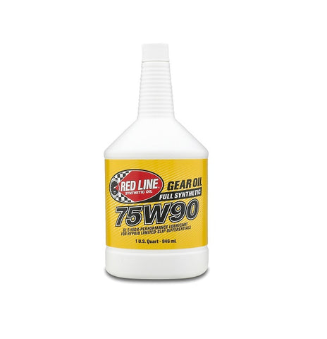 Redline Synthetic Gear Oil Differential 75W90 GL-5