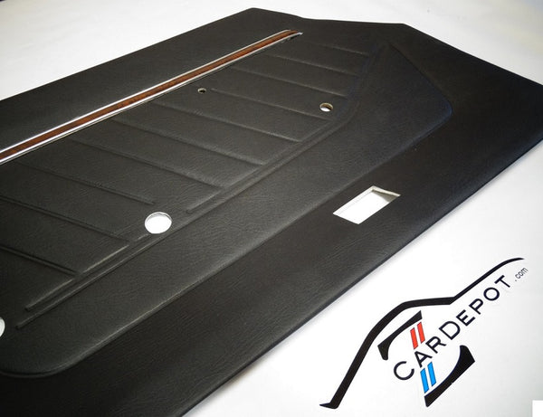 Door Panel Card Set Black 280Z 1977-78 NEW