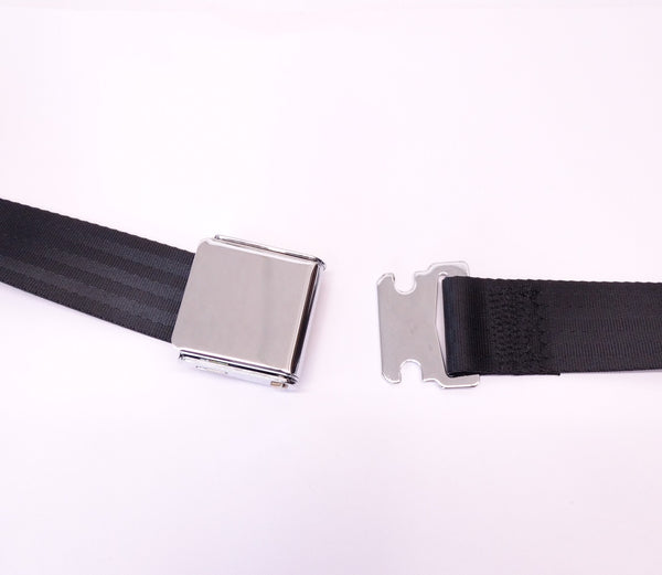 Seat Belt Set Two Point Lap Black 240Z 260Z 280Z