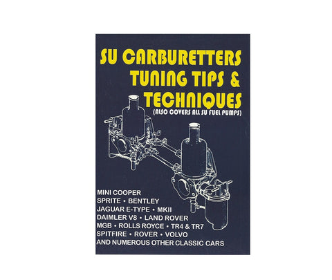 SU Carburetor Rebuild Repair Tech Manual Book