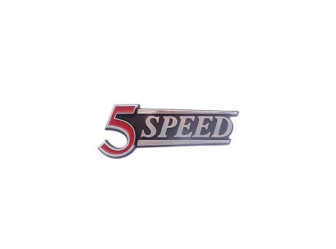 5 Speed Hatch Emblem 280Z
