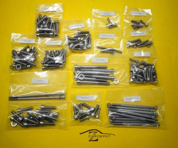 LS1 Stainless Steel Engine Bolt Kit SS Allen Head 240 pcs