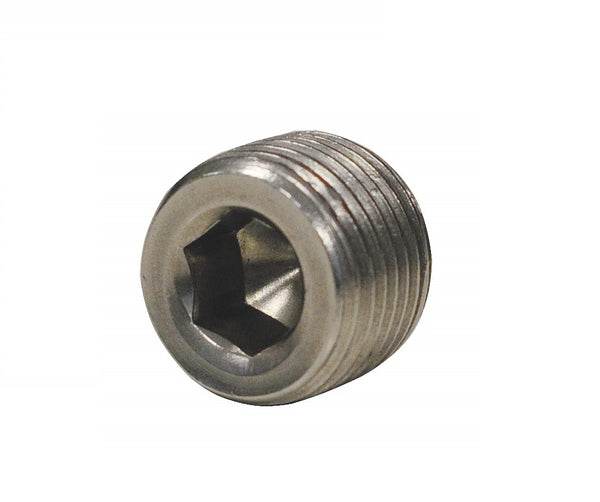 "Pipe Plug NPT 1/4"" Stainless Steel"