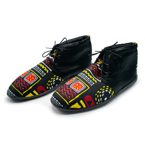 Black Tribal - boots