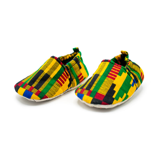 Kente Tribal - Baby Shoes