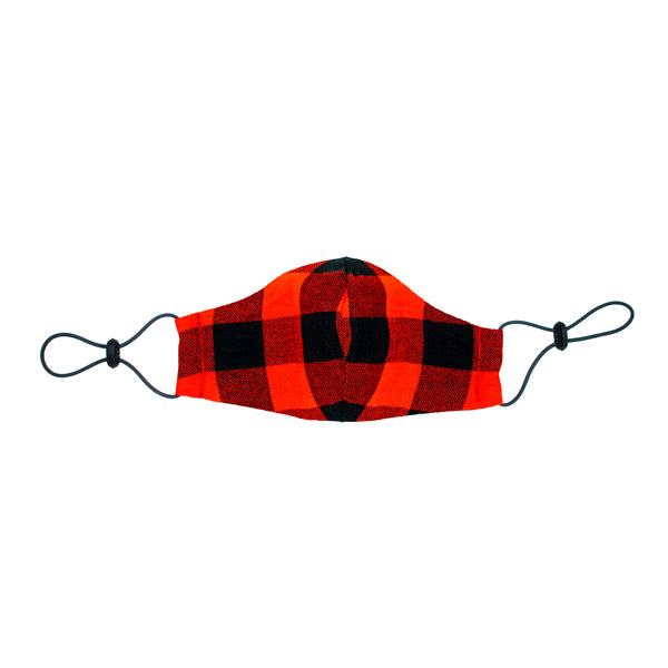 Maasai Face Mask - Red/Black