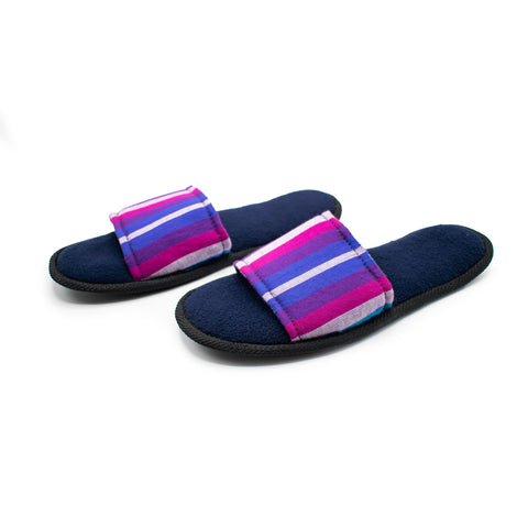 Summer Slippers Kikoy - Purple
