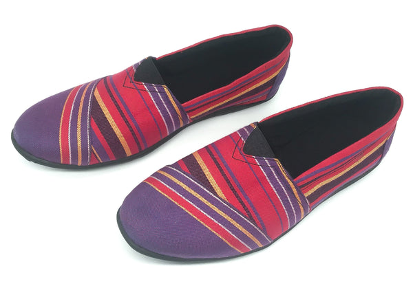 Purple Kikoy - Slip On