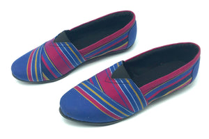 Blue/Purple Kikoy - Slip On
