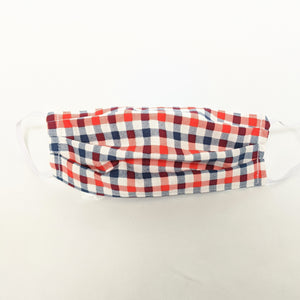 America Gingham Face Mask