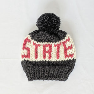OHIO STATE Script Knit Beanie Hat