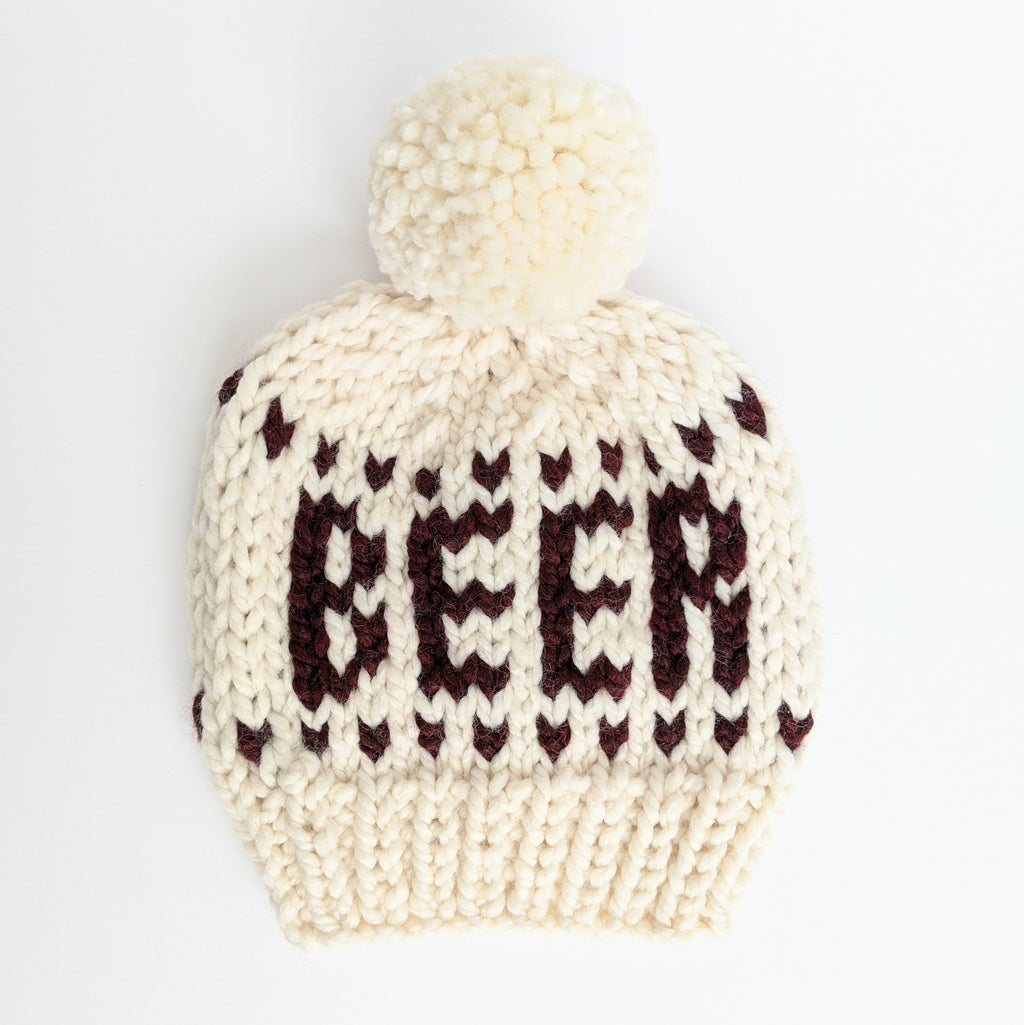 Beer Knit Beanie Hat