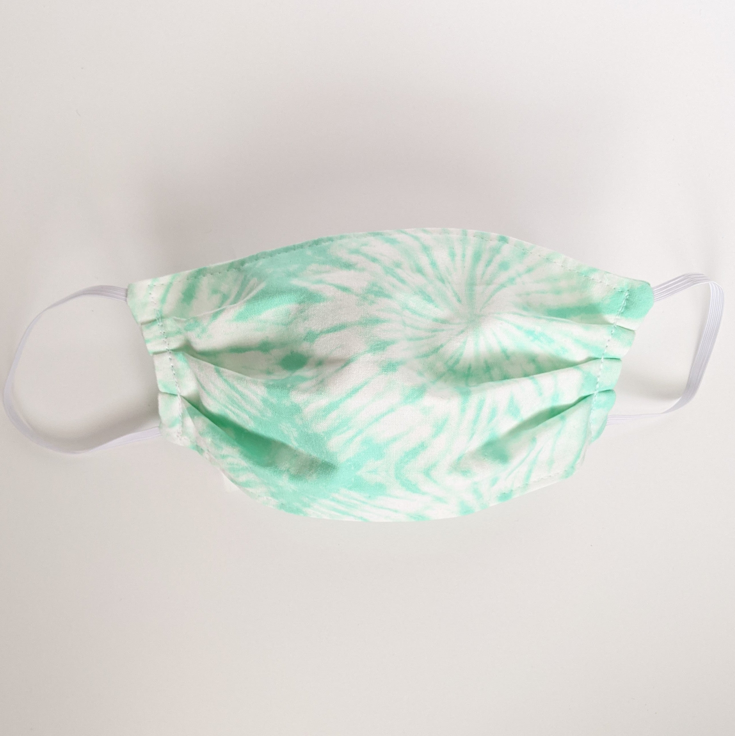 Mint Tie Dye Face Mask