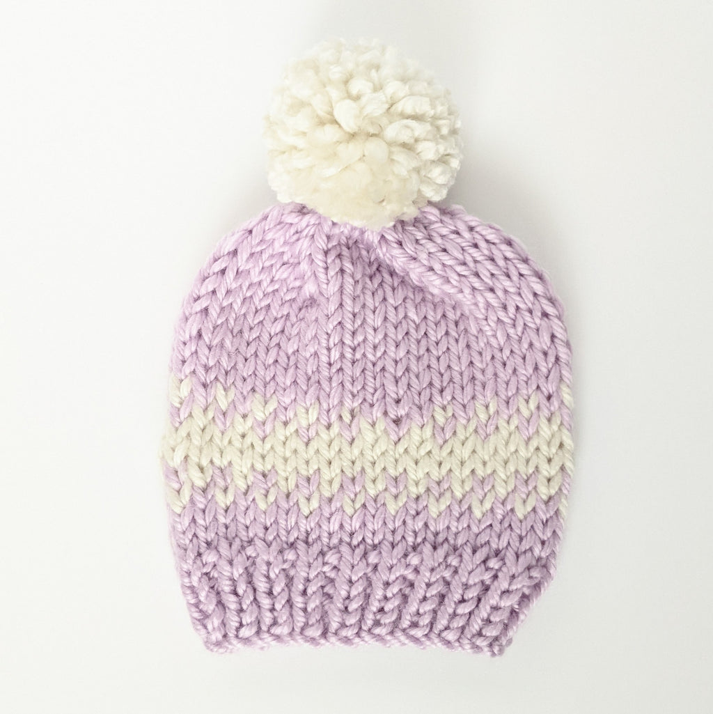 Youth Purple Dream Knit Hat