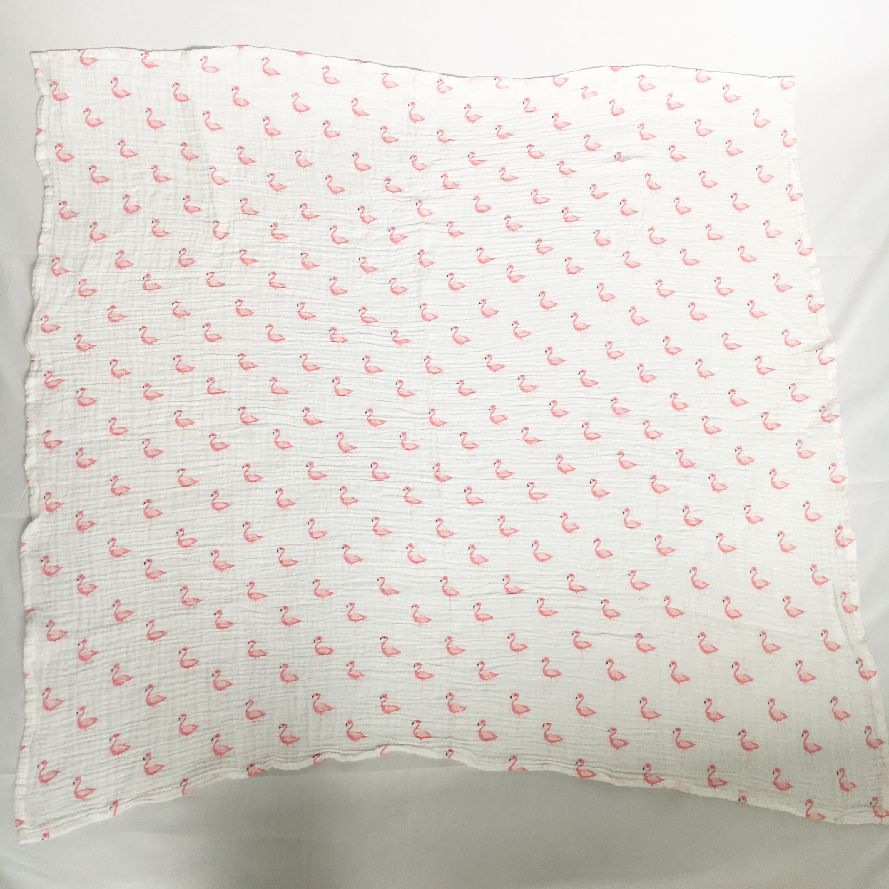 Flamingo Muslin Blanket