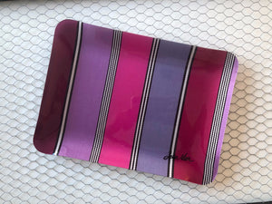"Jean-Vier Serving Tray, small, ""Fuchsia-Purple"""