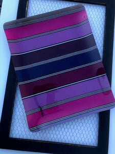 "Jean-Vier Serving Tray,Large , ""Fuchsia-Purple"""