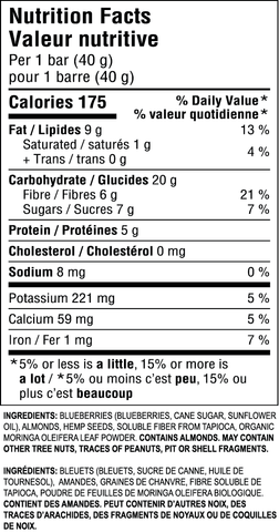 JiveBerry-Bar-Blueberry-Almond-Nutritional-Information