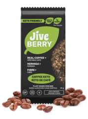 JiveBerry Coffee-Keto-Snacks Low-Carb Nutrition Bar