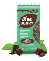 JiveBerry Bars Low-Carbs Mint-Chocolate