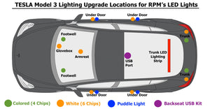 Model 3 Lighting Upgrades